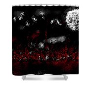 Fire Pixies Shower Curtain