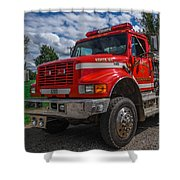 Fire Rescue Shower Curtain