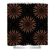 Fire Sabers Shower Curtain