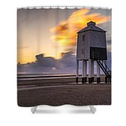 Fire Skies Shower Curtain