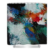 Fire Song 002 Shower Curtain