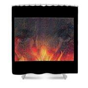 Fire Soul Shower Curtain