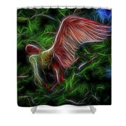 Fire Spirit 2 Shower Curtain