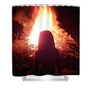 Fire Starter Shower Curtain