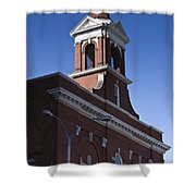 Fire Station No 1 Roanoke Virginia Shower Curtain