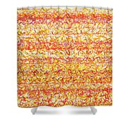 Fire Talk Shower Curtain