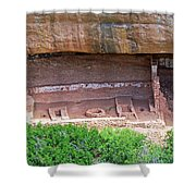 Fire Temple - Mesa Verde Nationalpark Shower Curtain