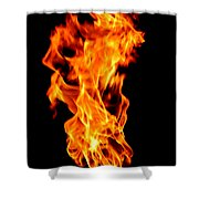Fire The 3rd Element Michigan Shower Curtain
