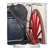 Fire Wagon Shower Curtain