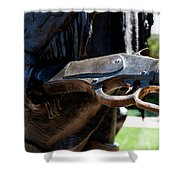 Firearms William Cody Statue Cody Wyoming Shower Curtain