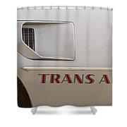 Firebird Trans Am Front Corner Panel Vent Shower Curtain
