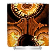 Fired Up Shower Curtain