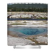 Firehole River And Pool Shower Curtain