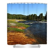 Firehole River Colors Shower Curtain