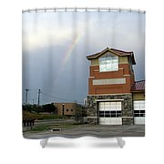Firehouse Ranibow Shower Curtain