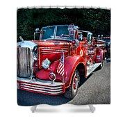 Fireman - 1949 And It Still Runs  Shower Curtain