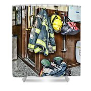 Fireman - Always Ready Shower Curtain