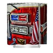 Fireman - Fire Truck Shower Curtain