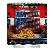 Fireman - I'll Put Your Fire Out Shower Curtain by Mike Savad