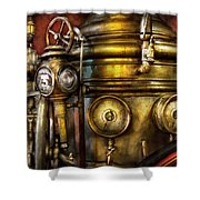 Fireman - The Steam Boiler  Shower Curtain