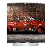 Fireman - Fgp Engine No2 Shower Curtain