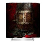 Fireman - The Mask Shower Curtain
