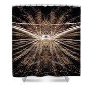 Firemoth Shower Curtain
