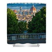 Firenze Vista Shower Curtain