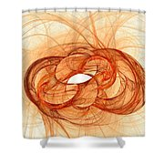 Fires Of Fusion Shower Curtain