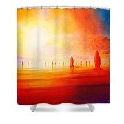 Firestone Shower Curtain