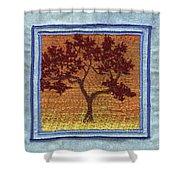 Firetree2 Shower Curtain