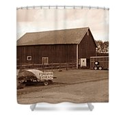 Firewood For Sale Shower Curtain