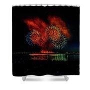 Fireworks 22 Shower Curtain