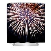 Firework Beauty Shower Curtain