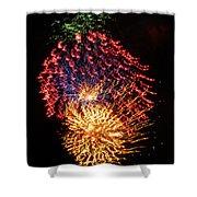 Firework Jewel Blast Shower Curtain