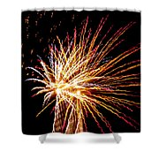 Firework Symphony Shower Curtain