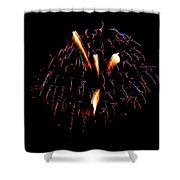 Fireworks 10 Shower Curtain