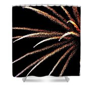 Fireworks 103 Shower Curtain