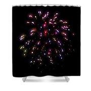 Fireworks 13 Shower Curtain