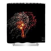 Fireworks 14 Shower Curtain