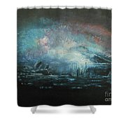 Fireworks 2018 Shower Curtain