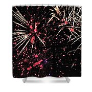 Fireworks 2018 Shower Curtain