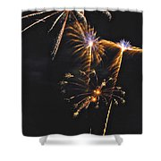 Fireworks 3 Shower Curtain