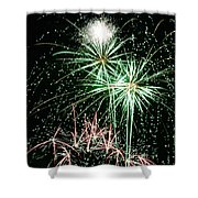 Fireworks 4 Shower Curtain