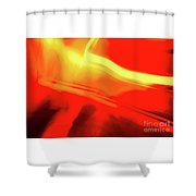 Flash Abstract 561 Shower Curtain