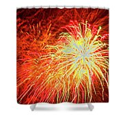 Fireworks 6 Shower Curtain