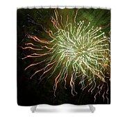 Fireworks 7 Shower Curtain