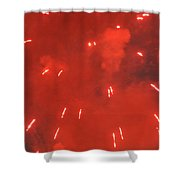 Fireworks A Different Persoective One Shower Curtain