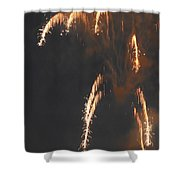 Fireworks A Different Perspective Four Shower Curtain