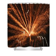Fireworks A Different Perspective Seven Shower Curtain